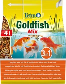 Tetra Pond Goldfish, Hauptfutter für alle Goldfische und Kaltwasserfische im Gartenteich, verschiedene Sorten - 1